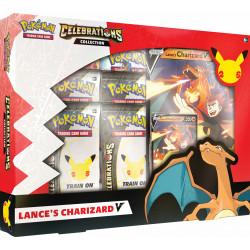 Pokemon - Kollektion Celebrations - Siegfrieds Glurak-V oder Dunkles Feelinara-V