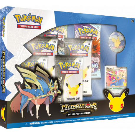 Pokemon - Celebrations - Deluxe Pin Collection