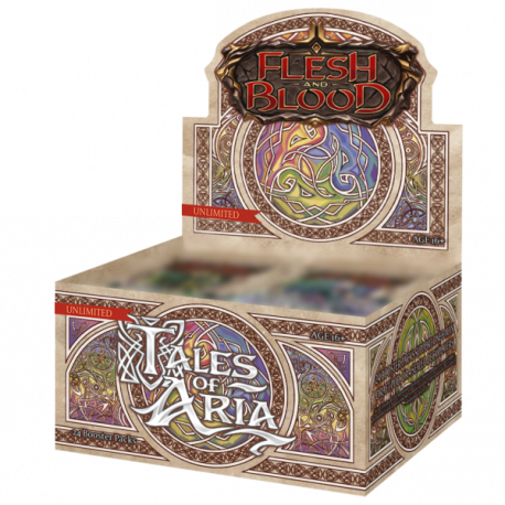Flesh and Blood TCG - Tales of Aria - Unlimited Edition Booster Display