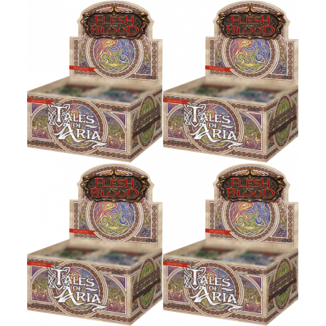 Flesh and Blood TCG - Tales of Aria - Unlimited Edition Booster Case (4 Displays)