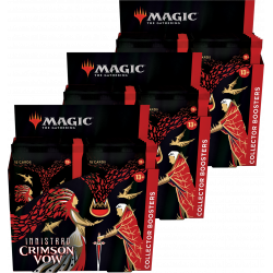 Innistrad: Crimson Vow - 3x Collector Booster Box