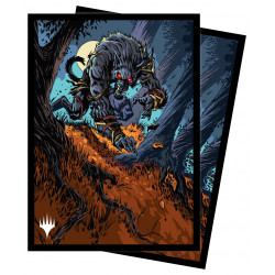 Ultra Pro - Innistrad Midnight Hunt 100 Sleeves - Moonrage Brute
