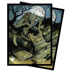 Ultra Pro - Innistrad Midnight Hunt 100 Sleeves - Graveyard Glutton