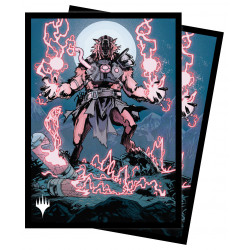 Ultra Pro - Innistrad Midnight Hunt 100 Sleeves - Storm-Charged Slasher