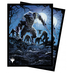 Ultra Pro - Innistrad Midnight Hunt 100 Sleeves - Tovolar, the Midnight Scourge