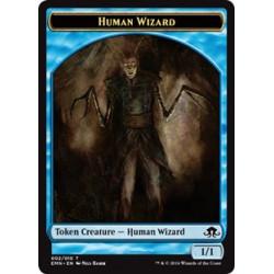 Human Wizard Token