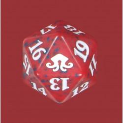 D20 Spindown Die - Eldritch Moon - Rouge