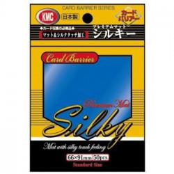 KMC - Silky Mat Standard 50ct Sleeves - Blue