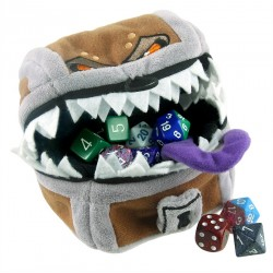 Ultra Pro - Dice Bag - Dungeons & Dragons Mimic Gamer Pouch