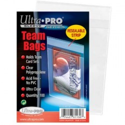 UP - Team Bags Resealable Sleeves