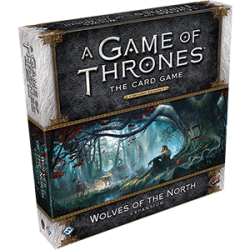 A Game of Thrones: The Card Game Second Edition - Wolves of the North Deluxe Expansion