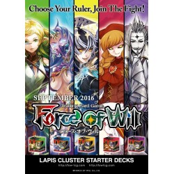 Force of Will - Alice Cluster Starter Deck 2nd Set - All 5
