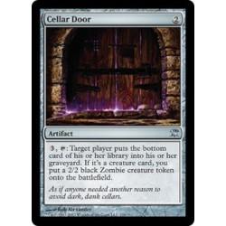 Porte de cellier