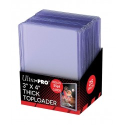 Ultra Pro -  Thick Toploader 55PT, 25ct