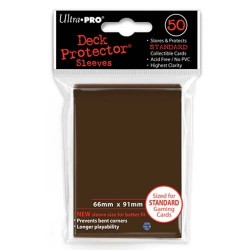 Ultra Pro - Standard 50 Sleeves - Brown