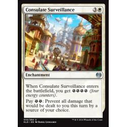 Surveillance du consulat
