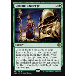 Dubious Challenge