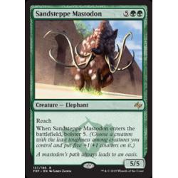 Mastodonte de la steppe de sable