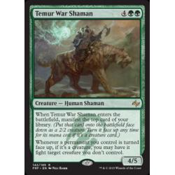 Shamane de guerre temurien
