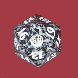 D20 Spindown Die - Kaladesh - Black