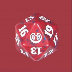 D20 Spindown Die - Kaladesh - Red