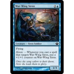 Sirène aile-de-guerre