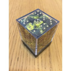 D6 Brick 12mm Special Dice (36) - Yellow/Black