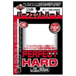 KMC - Standard 50ct Sleeves - Perfect Hard