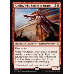Alesha, Verachterin des Todes