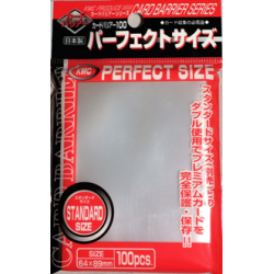 KMC - Standard 100ct Sleeves - Perfect Size