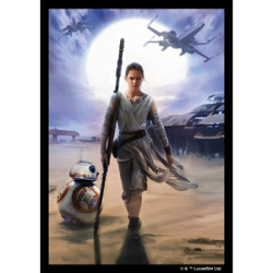 FFG Sleeves - Star Wars - Rey (50 Sleeves)