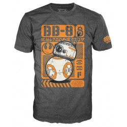 Funko POP! Tees - Star Wars TThe Force Awakens - BB-8 T-shirt - Size L