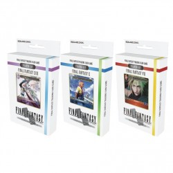 Final Fantasy TCG - Starter Deck Set - FF VII + X + XIII