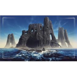 John Avon Art - Farway Island Playmat