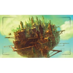 John Avon Art - Farway Island Playmat