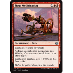 Siege Modification