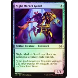 Garde du marché nocturne - Foil