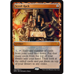 Scroll Rack - Invention