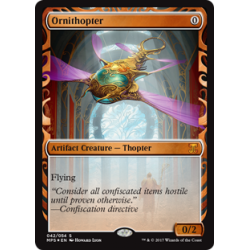 Ornithopter - Invention