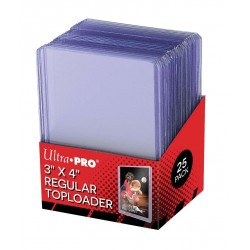 Ultra Pro - Clear Regular Toploader, 25pc