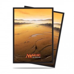 Ultra Pro - Mana 5 Standard Deck Protectors 80ct Sleeves - Plains