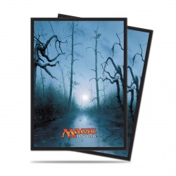 Ultra Pro - Mana 5 Standard Deck Protector 80ct Sleeves - Swamp