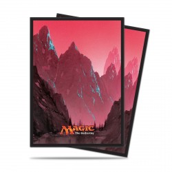 Ultra Pro - Mana 5 Standard Deck Protector 80ct Sleeves - Mountain
