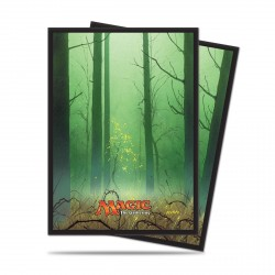 Ultra Pro - Mana 5 80 Sleeves - Forest