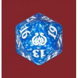 D20 Spindown Die - Aether Revolt - Blue