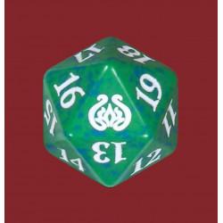 D20 Spindown Die - Aether Revolt - Green