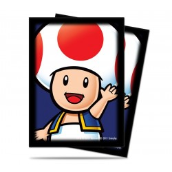 Ultra Pro - Super Mario Deck Protector (65ct Sleeves) - Toad