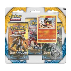 Pokemon - Sun and Moon 3 Pack Blister - Litten Promo
