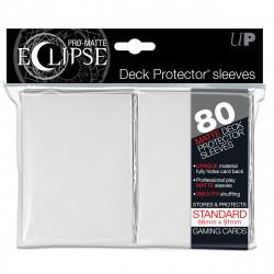 Ultra Pro - Pro-Matte Eclipse Standard 80ct Sleeves - White