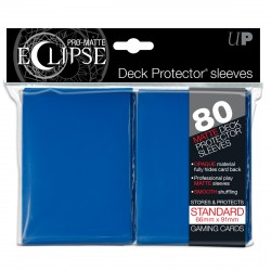 Ultra Pro - Pro-Matte Eclipse Standard 80ct Sleeves - Blue
